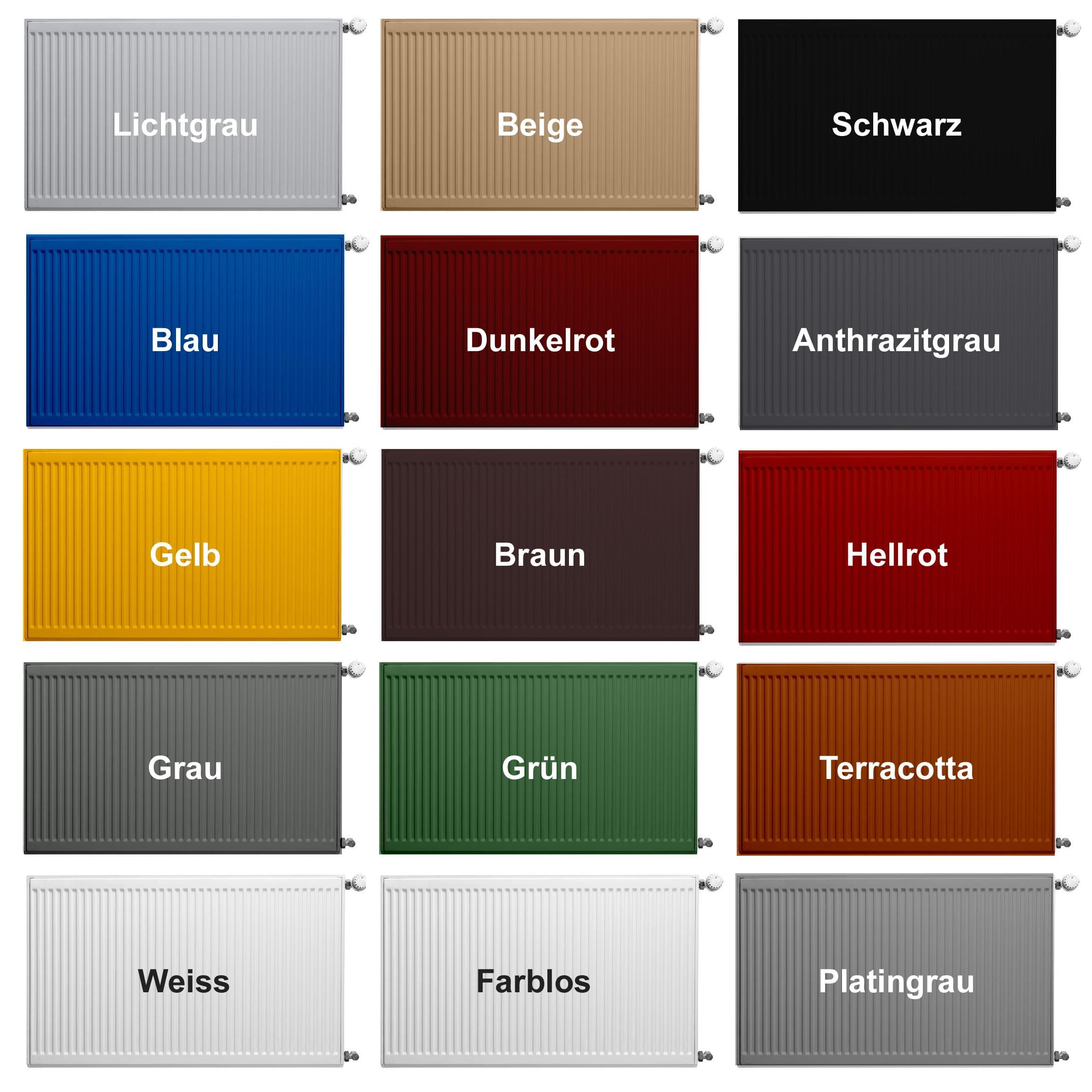heizk rperlack in verschiedenen farben bekateq. Black Bedroom Furniture Sets. Home Design Ideas
